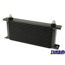 Olajhűtő TurboWorks 16-soros 260x125x50 AN8 Fekete